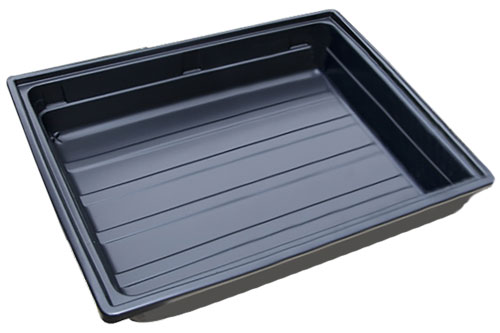 Kunststoffwanne schwarz Kunststoff ABS Kofferraum, Industrie, Hobby, hoher Rand, Werkstatt, Autowanne, AWKS